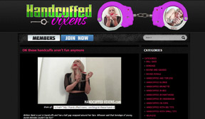 Handcuffed Vixens - Bound and Gagged